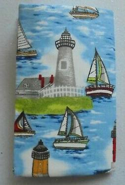 2 Year Pocket Planner LIGHT HOUSE Print Fabric Pocket Calend
