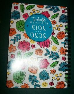 2019 2020 Academic 5X8 Week Monthly calendar Floral Student