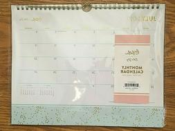 Blue Sky 2019-2020 Monthly Academic Calendar Spiral Wire Han