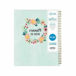 Blue Sky 2020-2021 Academic Year Weekly & Monthly Planner, F