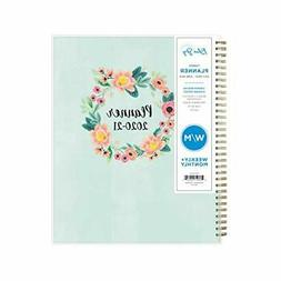 Blue Sky 2020-2021 Academic Year Weekly & Monthly Planner Fr