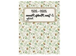 2020 - 2021 Full Size 2-Year Monthly Planner   8.5x11: Agend