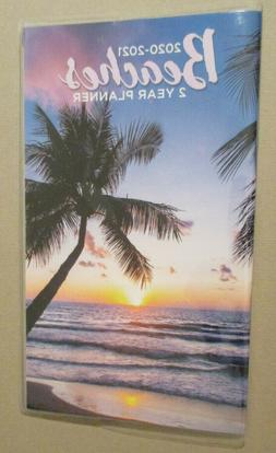 2020-2021 MONTHLY 2-Year TROPICAL BEACHEs Sunset PLANNER 6.7