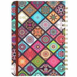 2020-2021 Planner - Academic Weekly & Monthly Planner with F