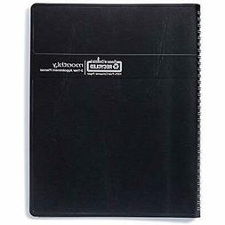 2020-2021 Two Year Calendar Planner, Monthly, Black Cover, 8
