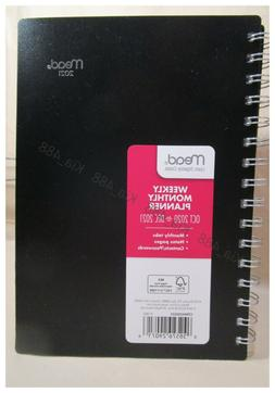 """2020-2021 Weekly & Monthly Planner by Mead, 5-1/2"""" x 8-1/2""""-"""