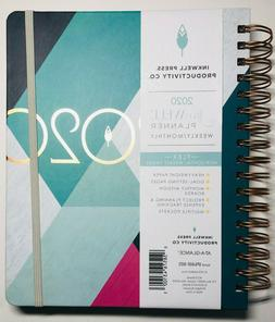 2020 Inkwell Press Weekly Monthly Planner At-A-Glance 7x9 Ha