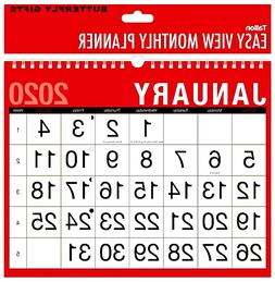 2020 Large Wall Calendar  Easy Month to View Planner Easy Vi
