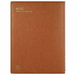 2020 Leather Monthly Planner/Calendar Monthly Planner 2020 w