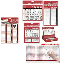 2020 - Monthly & Yearly Calendar & Planner Series For New Ye