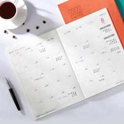 2020 Monthly Organizer Appointment Planner Calendar Day-Time