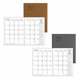 2020 monthly planner notebook agenda calendar school