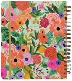 2020 Rifle Paper Co. 17 Month Garden Party Spiral Planner by