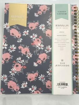 2020 planner day weekly monthly designer daisy