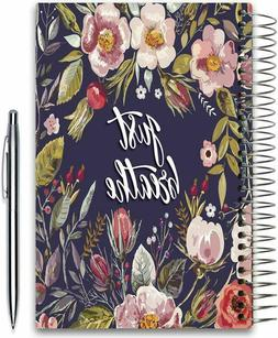2020 Planner Weekly and Monthly- 5x8 Hardcover Daily Weekly
