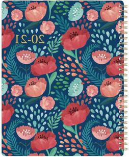 2020 -2021 Planner  Weekly & Monthly Planner w/ Marked Tabs