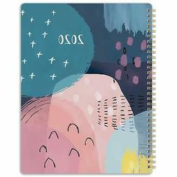 """2020 Planner - Weekly & Monthly with Twin-Wire Binding. 8.5"""""""