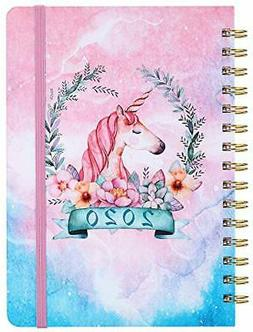 2020 planner weekly monthly planner tabs hard