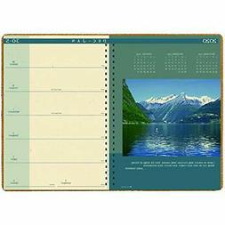2020 Planners Weekly And Monthly Calendar, Landscapes, 8.5 X
