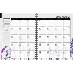 2020 Planners Weekly And Monthly Calendar Planner, Wildflowe