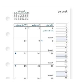 2020 FILOFAX Pocket Month on Two Pages Diary/Calendar - 20-6