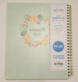 2020 Tabbed Weekly/Monthly Planner Calendars Agenda Book w/