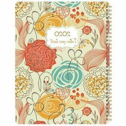 2020 Weekly And Monthly Planner Flexible Cover 8.5 x11 Twin