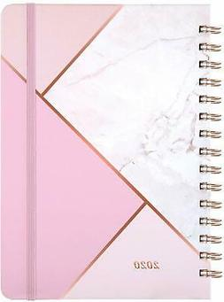 "2020 Year Planner, Weekly & Monthly with Tabs, 6.3""x8.4"", Ha"