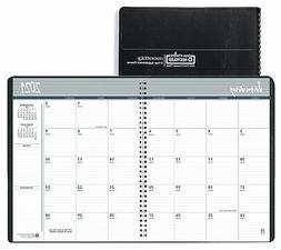 Blue Sky 2021 8.5 x 11 2-Year Monthly Planner, Black 2620022