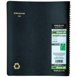 """2021 At-A-Glance 70-260G-05 Monthly Planner, 8-7/8 x 11"""", Bl"""
