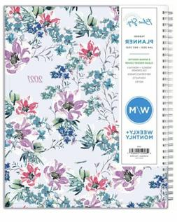 Blue Sky 2021 Weekly Monthly Planner, Flexible Cover Twin-Wi