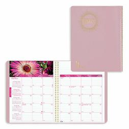 Brownline 2019 Monthly Planner, 14 Months , with Floral Imag
