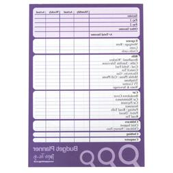A5 Budget / Finance / Money Planner - 50 Sheets per Pad - Pl