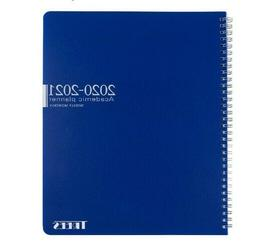 Academic Planner 2020-2021,Monthly and weekly Calendar with