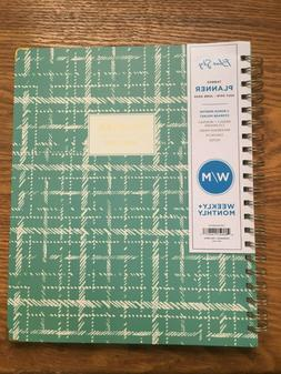 Blue Sky Academic Planner Weekly Monthly Tabbed Spiral 8.5 x