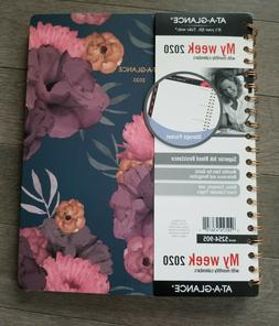 """AT-A-GLANCE 2020 Weekly """" Monthly Planner 8-1/2"""" X 11"""" Dark"""