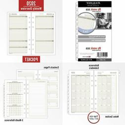 AT-A-GLANCE 2020 Weekly  Monthly Planner Refill, Day Runner,
