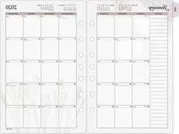 """AT-A-GLANCE Day Runner Nature Monthly Planner Refill, 5.5"""" x"""