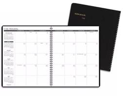 AT-A-GLANCE Monthly Planner 9 x 11 Black 2017-2018 7026005