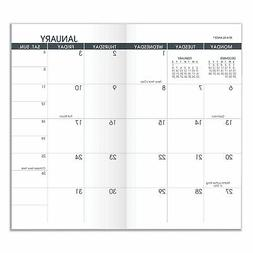 At-A-Glance Pocket Size Monthly Planner Refill 6 1/8 x 3 1/2