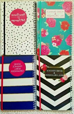 BILL ORGANIZER AND MONTHLY HOME FINANCE WITH POCKETS: 4 STYL