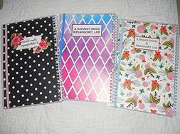 BILL ORGANIZER AND MONTHLY HOME FINANCE WITH POCKETS: 3 TO C