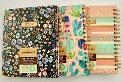 Clementine Paper Monthly Weekly Planner Year 2020 Spiral 8.5