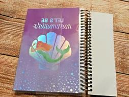 Recollections creative year 12 month Mermaid spiral planner