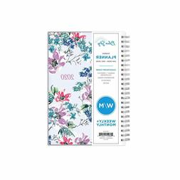 Blue Sky 2020 Weekly & Monthly Planner, Flexible Cover, Twin