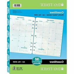 Day-Timer 2020 Monthly Planner Refill, Two Pages Per Month,