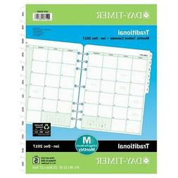 Day-Timer 87229 5.5 x 8.5 in. 2017 Monthly Classic Refill Pl