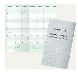 """Day-Timer Advance Planner Compact 3"""" x 5"""" 20 Months, Jan 202"""