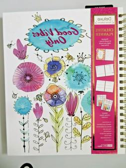 PaperCraft Deluxe Creative Planner Perpetual 12 Month Format