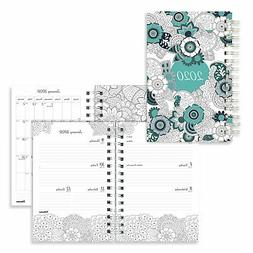 Blueline Doodleplan Weekly/Monthly Planner 8 x 5 Botanica 20